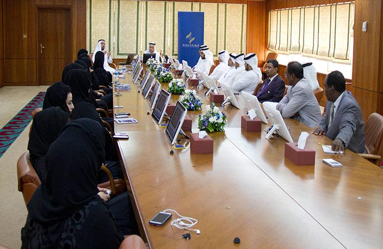 غرفة عجمان تعقد مؤتمرا صحفيا للاعلان عن معرض عجمان للتعليم والتدريب 2014