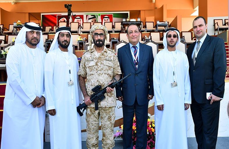 العامري : الصناعة العسكرية الاماراتية شهدت تطورا كبيرا خلال سنوات