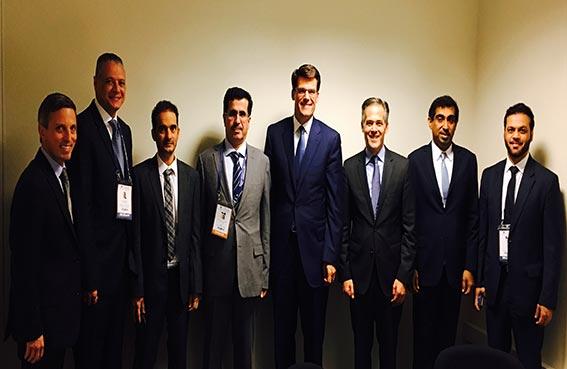 كهرباء دبي تبحث التعاون مع جنرال إلكتريك وشركات تركية