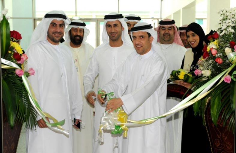 مؤسسة خليفة للأعمال الانسانية تنظم معرض الأسر المواطنة في جامعة الإمارات