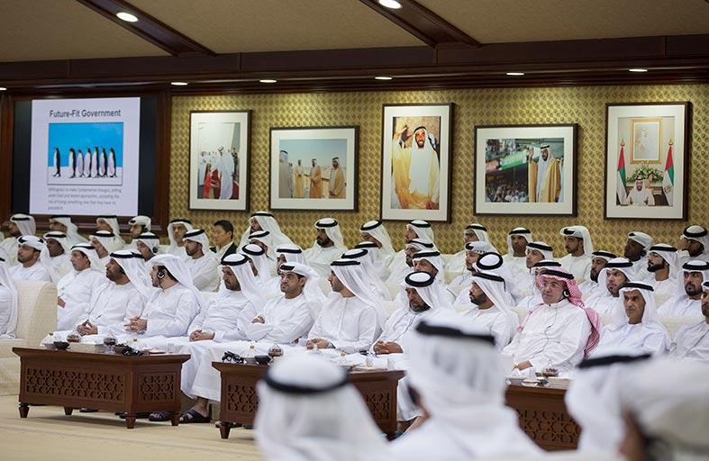 مجلس محمد بن زايد يستضيف محاضرة حول استشراف المستقبل ومستقبل الحوكمة