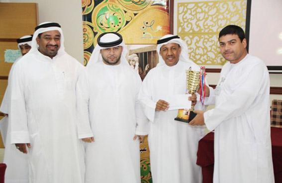 محكمة دبا الحصن تفوز بمسابقة الدريشه لمجلس أولياء أمور الطلبة والطالبات بدبا الحصن