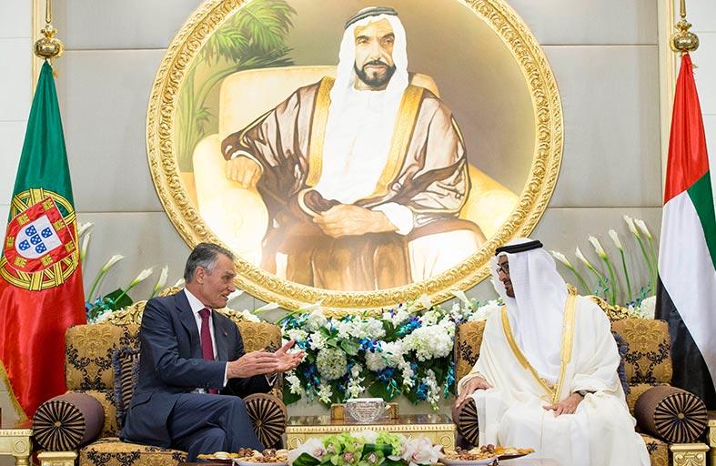 محمد بن زايد: الإمارات بقيادة خليفة تتطلع إلى بناء المزيد من جسور التعاون مع البرتغال
