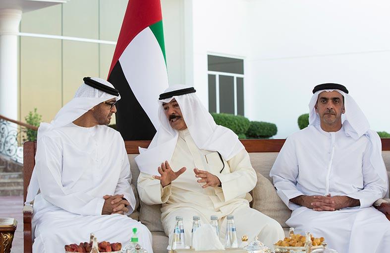 محمد بن زايد يؤكد عمق الروابط الأخوية والعلاقات المتينة بين البلدين