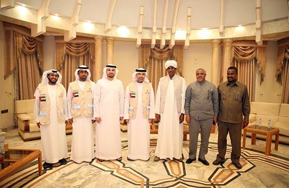 مساعد الرئيس السوداني يشيد بدور الهلال الأحمر الإماراتي