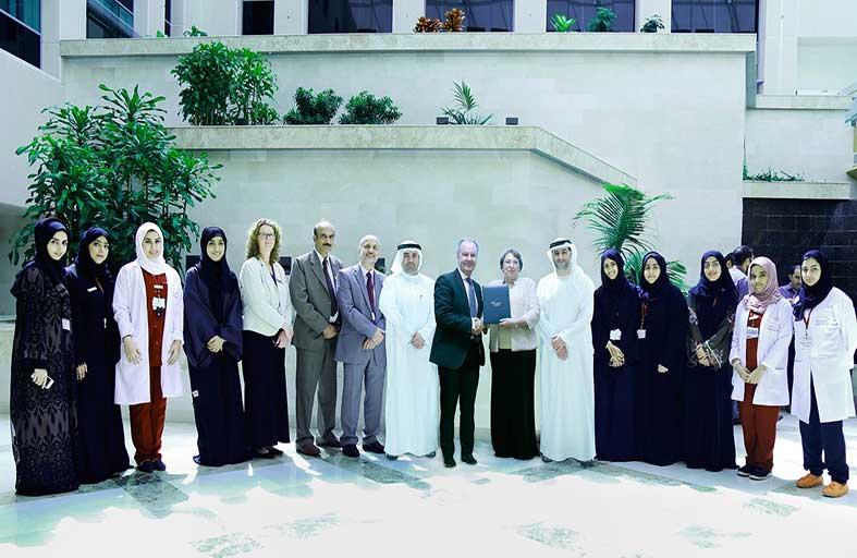 مستشفى الجامعة بالشارقة يحصل على شهادة الاعتماد من اللجنة الدولية المشتركة لاعتماد المستشفيات