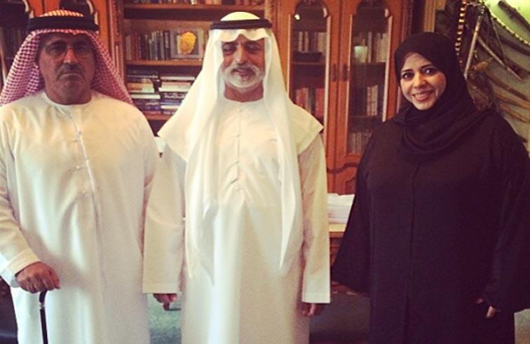 نهيان بن مبارك يستقبل رئيس جمعية الشحوح للتراث الوطني ونائبته لشؤون المرأة