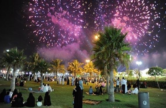 مظاهر الاستعداد لعيد الفطر المبارك في الإمارة الباسمة (الشارقة)