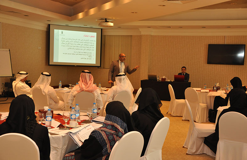 موارد عجمان المركزية تنظم ورشة عمل بعنوان سياسة التوطين في حكومة عجمان
