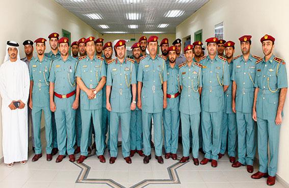 ميداليات تقديرية لـ 47 ضابط صف بشرطة المناطق الخارجية