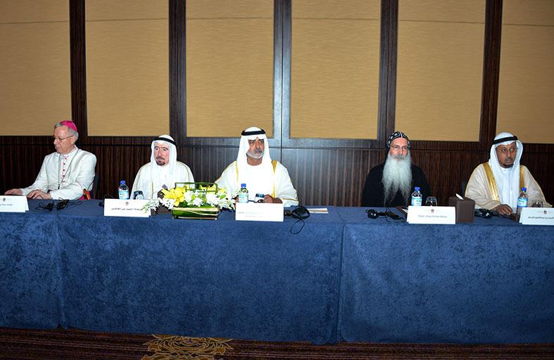 نهيان بن مبارك يفتتح الاجتماع التحضيري لقمة العشرين حول حوار الاديان