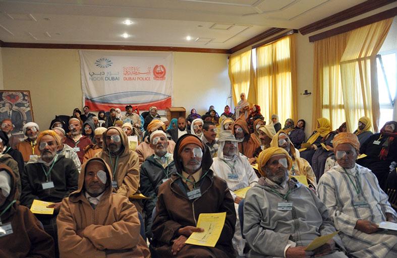 نور دبي لمكافحة العمى تختتم مخيمها العلاجي في المغرب