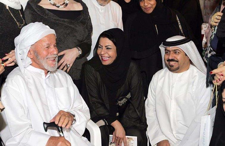 هند بنت عبدالعزيز القاسمي تزور ملتقى نحن معكم