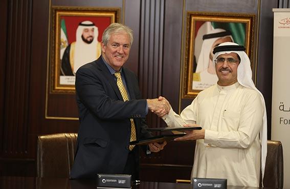 """هيئة كهرباء ومياه دبي توقع مذكرة تفاهم مع شركة """" كالمان"""" العالمية"""
