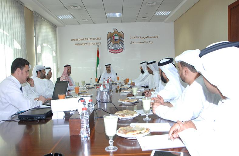 وزارة العدل تؤكد أهمية دور أعضاء النيابة العامة المنتقلين إلى القضاء الاتحادي