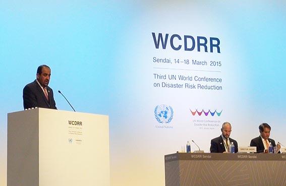 وزير البيئة يؤكد اهتمام الإمارات بقضايا الحد من المخاطر والكوارث
