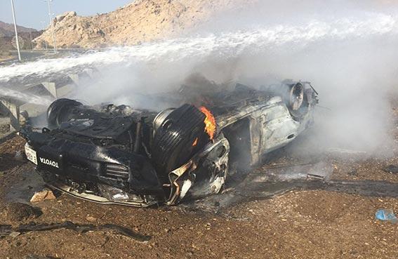 وفاة شخص وإصابة 8 آخرين في حوادث متفرقة وقعت في دبي