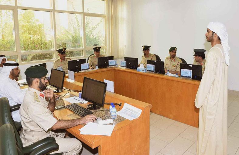 لجنة مقابلات الطلبة المرشحين تبدأ أعمالها في أكاديمية شرطة دبي