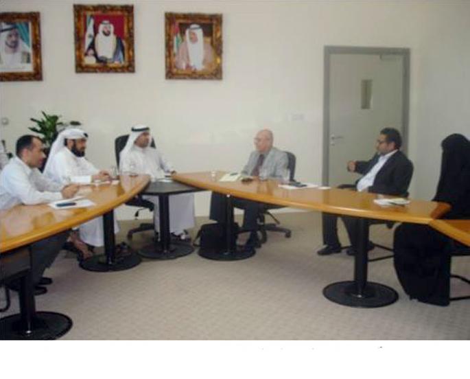 بلدية دبي تبحث سبل التعاون مع وفد من جامعة واشنطن