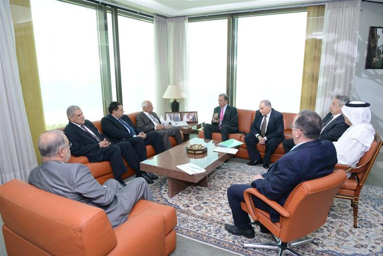 رئيس الوزراء المصري يزور صندوق النقد العربي