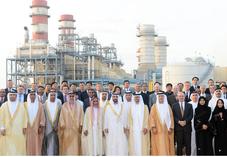 حمدان بن زايد يدشن محطة الشويهات 2 للطاقة بتكلفة 2.7 مليار دولار