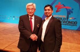 الإماراتي زايد خليفة السويدي عضواً في المكتب التنفيذي للاتحاد الآسيوي للتايكوندو