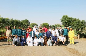 لجنة التنمية الثقافية والمجتمعية بنادي الذيد تنظم ورشة عمل الأشجار والنباتات المهددة بالانقراض