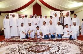 نادي الحمرية الرياضي يتوج الفائزين في ختام بطولته الرمضانية للثقافة والمعرفة 2017