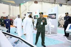 القوات المسلحة تشارك في  معرض الامارات للوظائف 2019