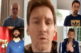 28 لاعباً ضمن حملة فيفا لمواجهة فيروس كورونا