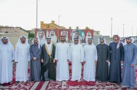 محمد بن سعود القاسمي يحضر أفراح السعدي والسويدي