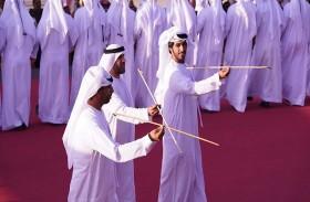 إقبال جماهيري على جناح دولة الإمارات في مهرجان الجنادرية 32