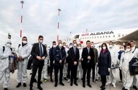 30 طبيباً ألبانياً في إيطاليا للمساعدة على مواجهة كورونا