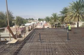 مركز الدعم الهندسي  في بلدية مدينة العين يستقبل 28 ألف متعامل