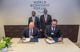 التوقيع على اتفاقية شراكة استراتيجية بين حكومة الإمارات والمنتدى الاقتصادي العالمي