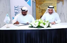المنظمة العالمية للمناطق الحرة عضواً في مجلس المناطق الحرة في إمارة دبي ويوقعان مذكرة تفاهم للتعاون المشترك