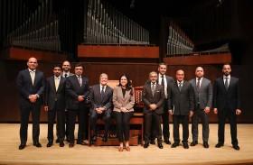 وفد من سفراء الدولة يزور مدرسة جوليارد للفنون المسرحية في نيويورك