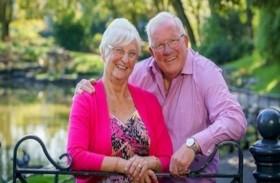 أسعد زوجين تشاجرا مرة واحدة في 50 عاماً