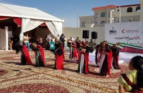 كلنا الإمارات تشارك في احتفالات اليوم الوطني  بمنطقة الظفرة