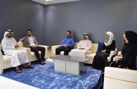 « تطوير معايير العمل بالشارقة »تستقبل وفدا من «دبي للإحصاء»