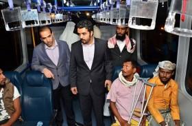 سفارة الدولة في نيودلهي تستقبل 88 جريحا يمنيا غادرا للعلاج بإشراف الهلال الأحمر الإماراتي