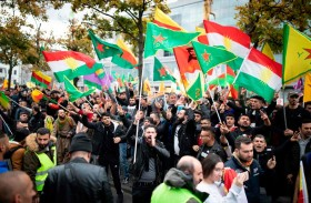 مظاهرات في ألمانيا تنديداً بالتدخل التركي في سوريا