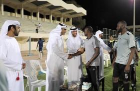 الرميثي يتفقد فعاليات بطولة حمدان بن زايد - الظفرة 2019 وسط حضور جماهيري