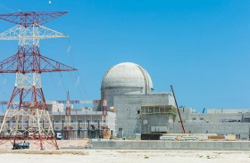 """المحطة النووية الثانية في """" براكة """" تجتاز اختبار التوازن المائي البارد"""