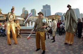 واجهة المجاز المائية تستضيف آلاف الزوار ضمن احتفالات عيد الفطر