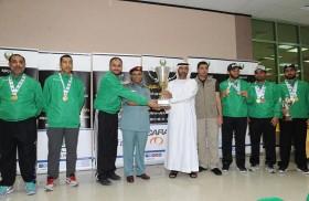 دبي تحصد المركز الأول للفردي والفرق وأبوظبي ثانية والشارقة ثالثة