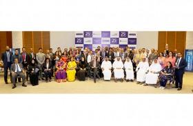 أحمد بن سعيد يكرم موظفي بنك الإمارات دبي الوطني الذين أمضوا 25 عاما في الخدمة