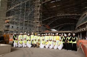 مطارات أبوظبي تضم 19 من خريجي برنامج التطوير الوطني إلى فريق العمل المشرف على جاهزية العمليات لمبنى المطار الجديد