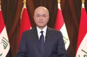 الرئيس العراقي يرحب بمقترح إجراء انتخابات مبكرة