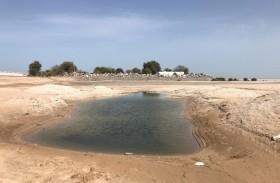 بلدية أبوظبي تنجز أعمال تسوية أكثر من( 700,000) متر مربع من الأراضي و دفان ( 161)  قطعة أرض